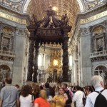 The Bernini canopy
