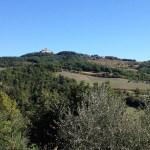 View of Monte Santa Maria Tiberina
