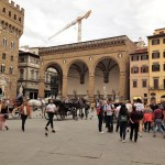 The front yard - Piazza Signoria