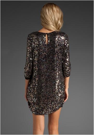 Parker Multi-Color Sequin Dress