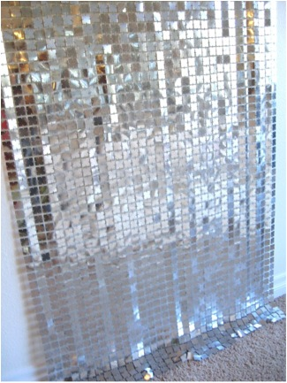 ICONIC 70s Mid Century Modern PACO RABANNE Space Curtin Room Divider, anyone?)