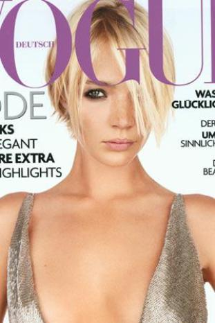 Jodie Kidd on Vogue Cover