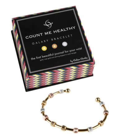 Count Me Healthy Galaxy tri-color bracelet by Chelsea Charles