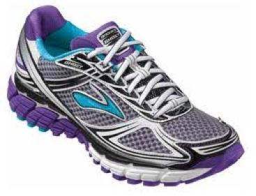 Caresse swears by Brooks running shoes