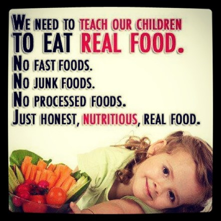 We need to always keep these words in mind when feeding our children