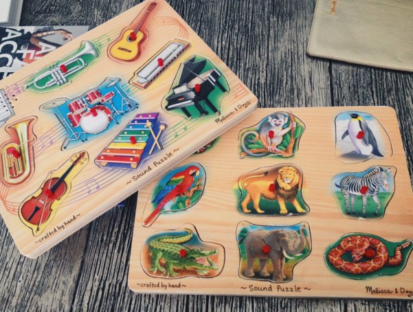 Melissa and Doug Puzzles on Spring and Chelsea