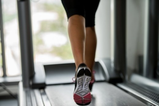 Challenge yourself by upping the incline on your treadmill or other cardio equipment.
