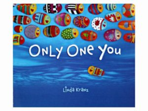 """Only One You"" Fish Pebbles"