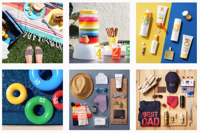 target style instagram feed exmaple