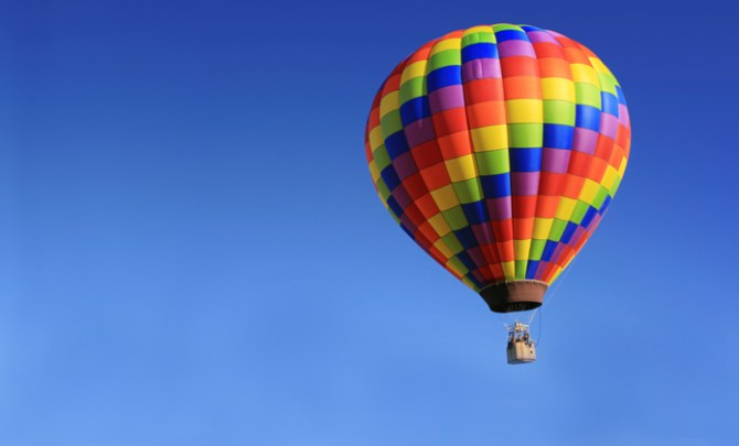 A first time guide to hot air balloon riding.