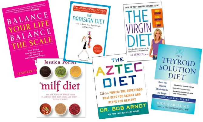 Best diet book advice for 2013.