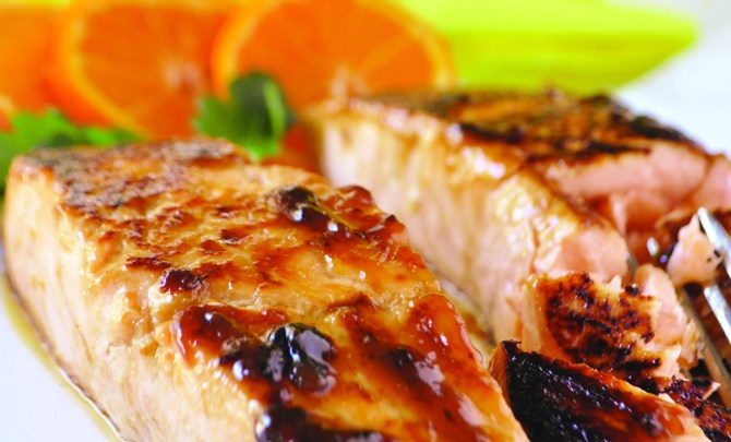 Honey Mustard Salmon 5189