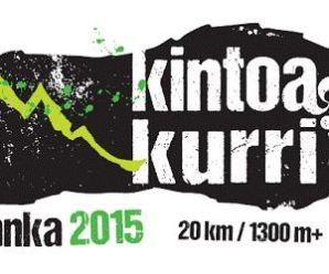 les résultats KINTOA KURRI 2015