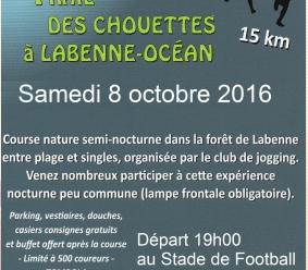 resultats TRAIL DE CHOUETTES LABENNNE