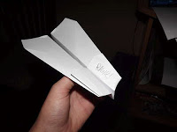 It's Spring! Time for Paper Airplanes!
