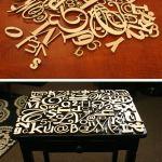 Letter Tabletop