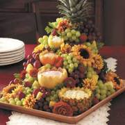 Cascading Fruit Centerpiece; Taste of Home