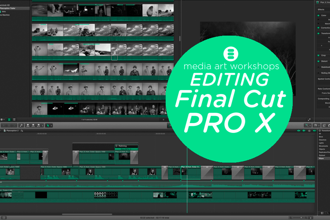 Editing with Final Cut ProX