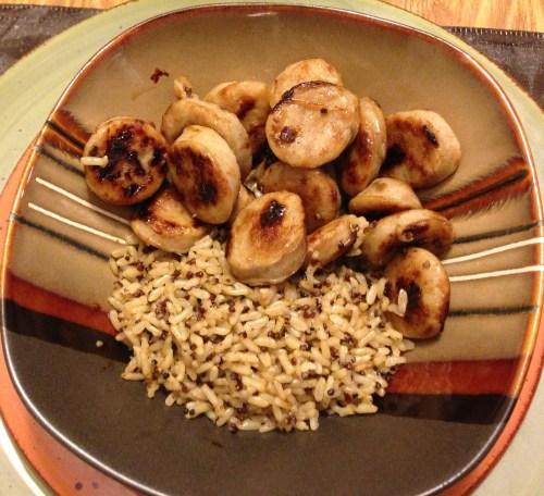 Seeds of Change Quinoa & Brown Rice & Al Fresco Sweet Apple Chicken Sausage