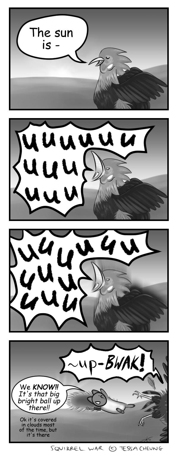 Cock-a-doodle-don't