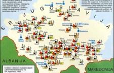 Уништавање српске националне баштине крајем 20. и почетком 21. века на простору Косова и Метохије