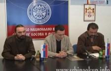 "Конференција за новинаре ""Срби На Окуп"" – избори на КиМ"