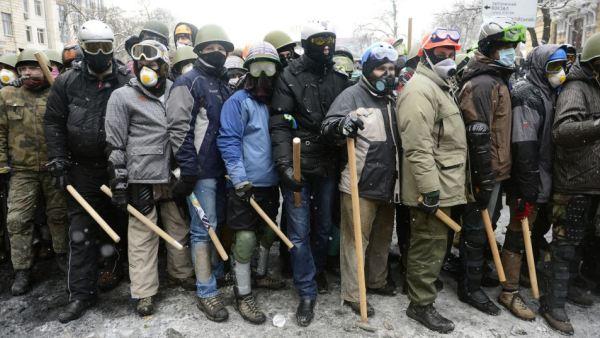 kijev demonstranti