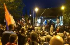Подгорица: Протест настављен, ноћ без инцидената