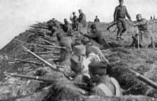 Гучевска битка позната је као једна од првих рововских битака из Првог светског рата.
