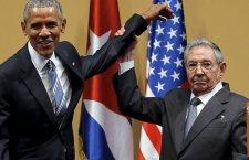Кастро није дозволио Обами да га потапше по рамену (видео)