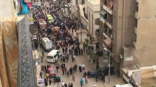 Египат, бомба у коптској цркви