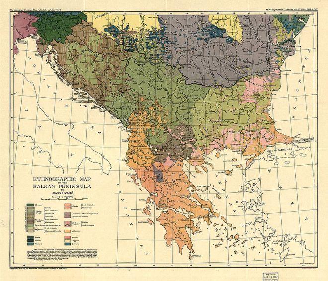 800px-Cvijic,_Jovan_-_Breisemeister,_William_A._-_Carte_ethnographique_de_la_Péninsule_balkanique_(pd)