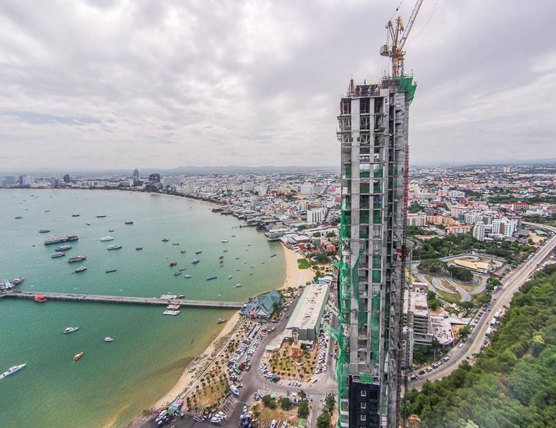 waterfront pattaya construction