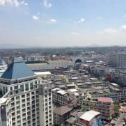 sriracha center top view