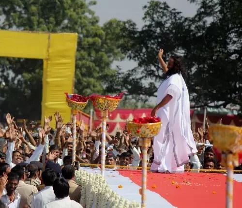 Sri Sri Visits Maharashtra