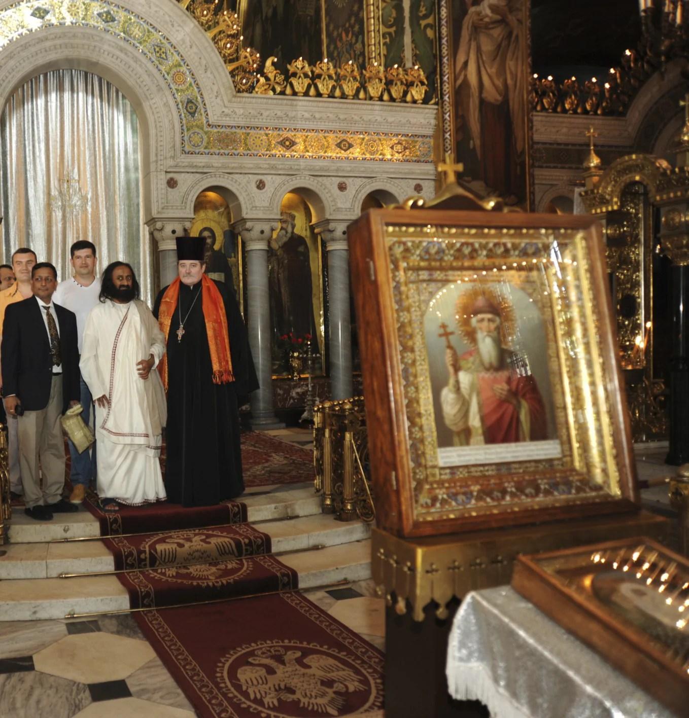 Sri Sri visits Ukraine
