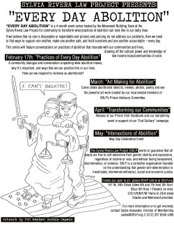 Everyday Abolition Flyer