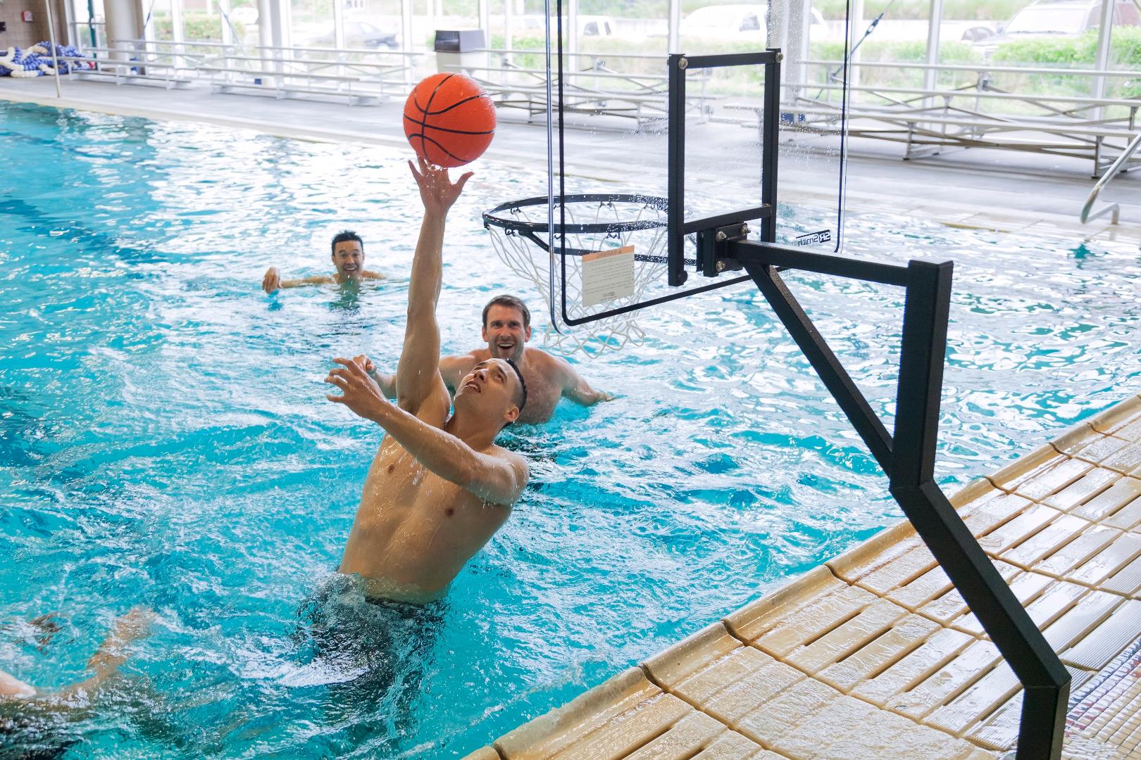 Fullsize Of Pool Basketball Hoop