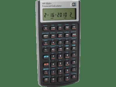 HP 10bII+ Financial Calculator | HP® Official Store