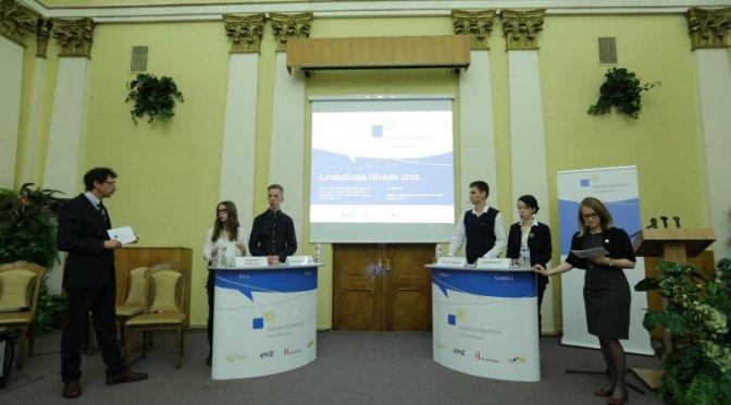 Фінішував цьогорічний Jugend debattiert international в Україні