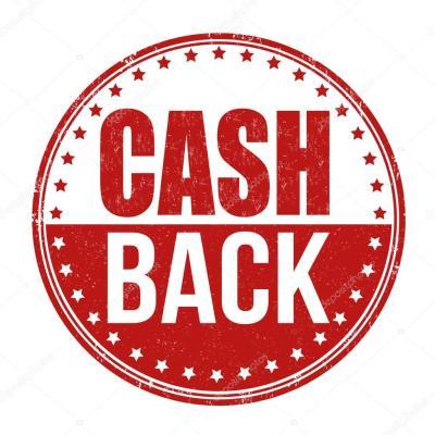 Cash back stamp — Stock Vector © roxanabalint #51072155