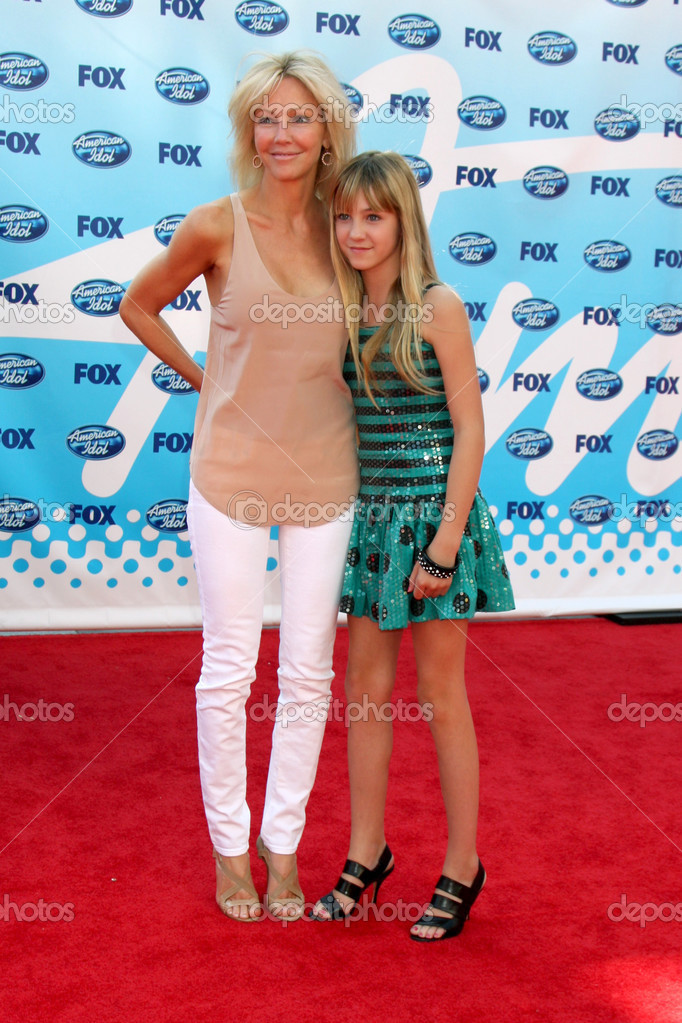 Heather Locklear and Ava Sambora     Stock Editorial Photo     Heather Locklear and Ava Sambora     Stock Photo