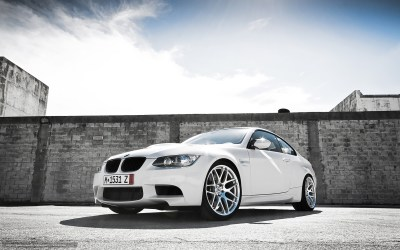 Download wallpaper BMW, White, front end, wall free desktop wallpaper in the resolution ...