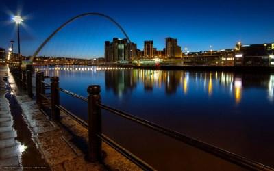 Download wallpaper england, newcastle upon tyne, quayside, millennium bridge free desktop ...