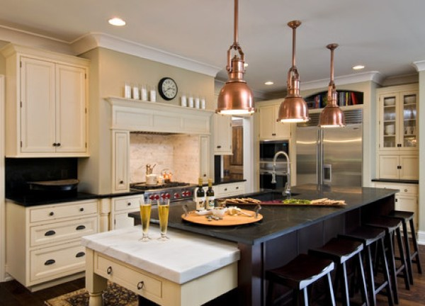 traditional kitchen Its all in the Copper Details