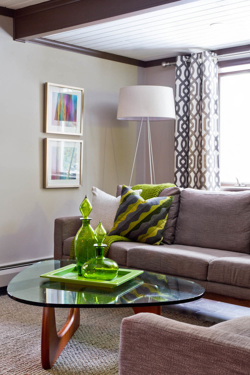 eclectic living room Floor lamps in your home decor
