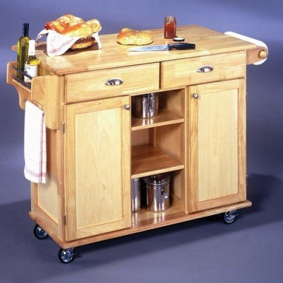 Napa Kitchen Cart - Traditional - Kitchen Islands And Kitchen Carts