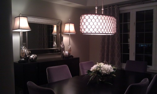 Fabulous Friday Dramatic Shining Dining Room Lighting & Buffet Lamps and How to Use Them - Lights Online Blog azcodes.com