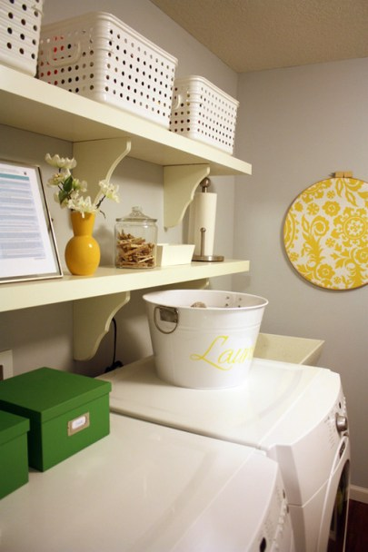 fun laundry room, Laundry Rooms, Laundry Room decor