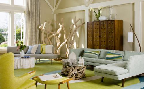 Mid Century Modern Meets Beach House
